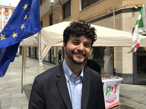 Sanremo: tappa nell'estremo ponente ligure per il candidato alle europee Brando Benifei