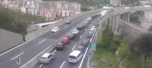 Traffico: riaperto il tratto della A7 Genova-Serravalle Scrivia