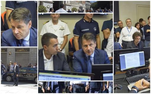 """Conte: """"Stato di emergenza. Revochiamo concessione ad Autostrade"""""""