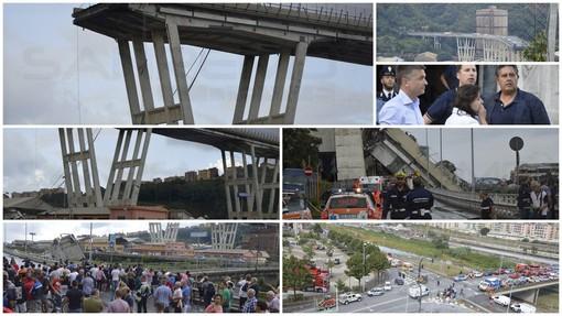 """Crollo ponte, il procuratore: """"Non è stata fatalità, ma errore umano"""""""