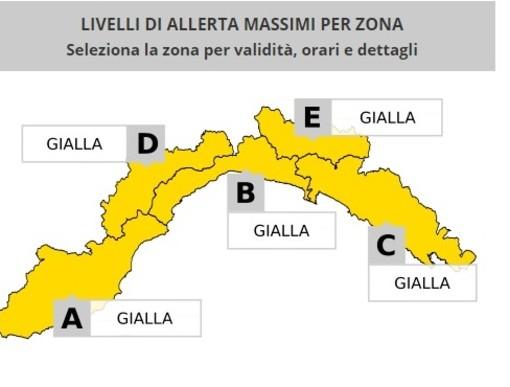 Allerta gialla anche a Genova: le disposizioni del Coc