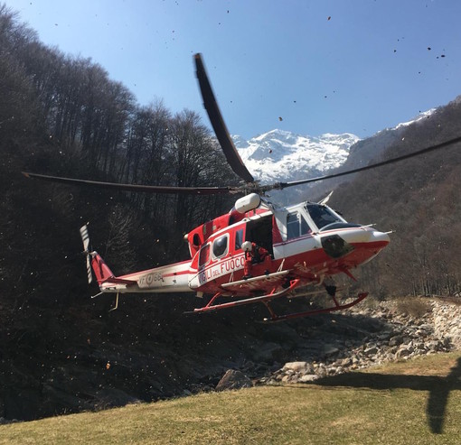 Incidente al Becco Alto di Ischiator in Valle Stura: la vittima è un genovese di 47 anni