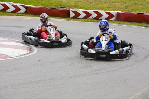 Una grande pista di Go-Kart per festeggiare la 50° edizione della Fiera Primavera