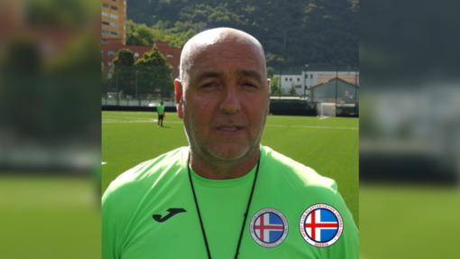 Luca Monteforte, allenatore del Ligorna
