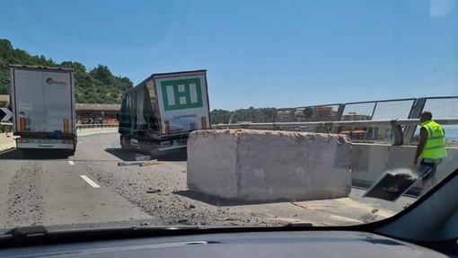 "Foto tratta dal gruppo facebook ""Viabilità Genova"""