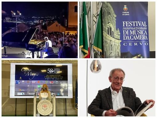 """Cervo: 58ª edizione del Festival di musica da camera, Cha """"Il fiore all'occhiello della nostra estate"""" (VIDEO)"""