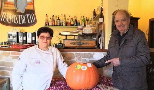 La Zucca di Rocchetta di Cengio in trasferta all'Osteria del Tempo Stretto di Albenga