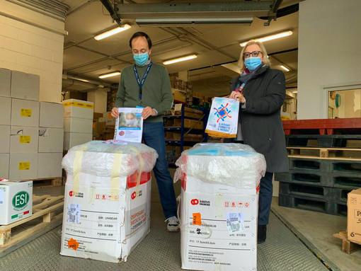 Dal Distretto Rotary 2032 50mila mascherine per gli operatori del territorio
