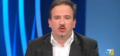 Il giornalista Luca Telese ospite di Radio Onda Ligure 101