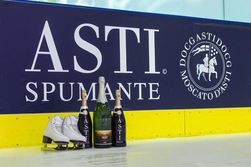 Il Consorzio dell'Asti partner dei Golden Skate Awards - San Valentino on Ice