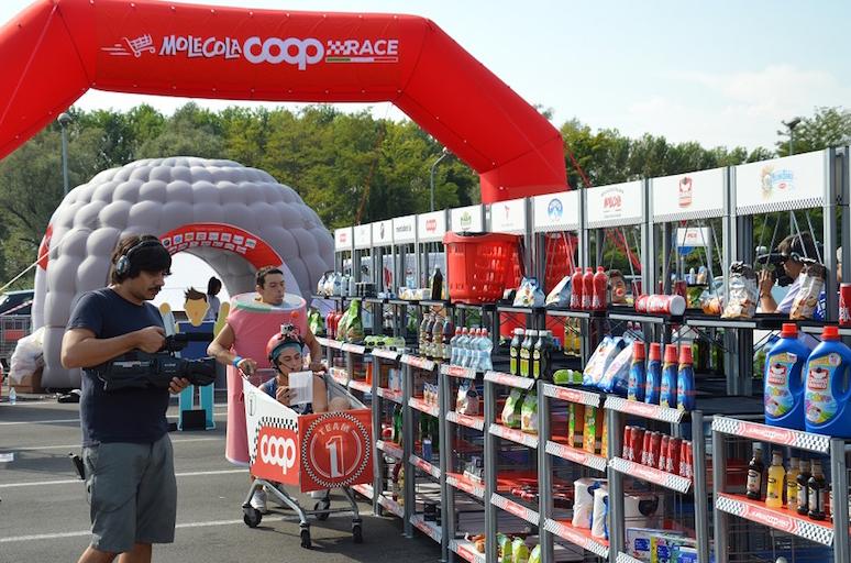 La Molecola Coop Race arriva in Liguria. La gara di carrelli mette ...