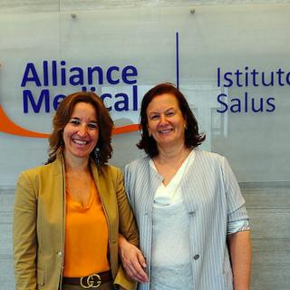 In foto Elisabetta Grillo e Beatrice Arlenghi