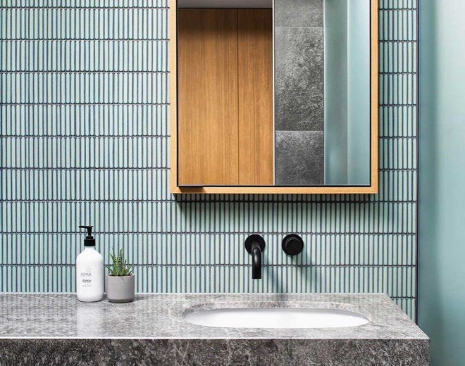 Il bagno: scegli i colori alla moda