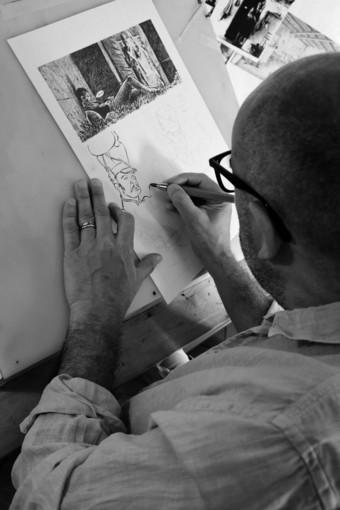 """Andrea Ferraris: """"Il fumetto d'autore? È come il Punk, ognuno può avere la propria band"""""""