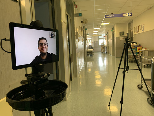 Emergenza coronavirus: da IIT il progetto per robot teleguidato in Rsa