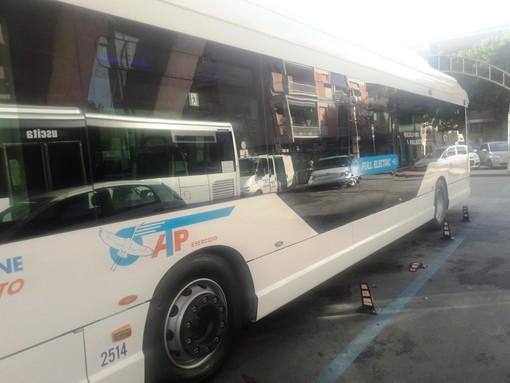 """A Recco con Atp il primo bus """"full electric"""" in circolazione in Italia"""