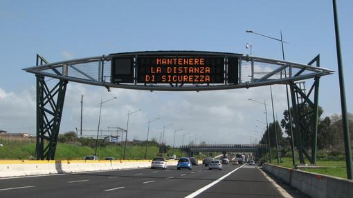 #Infoviabilità: il programma delle chiusure sulle autostrade liguri
