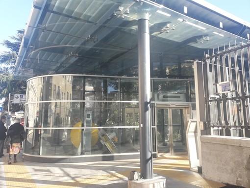 Genova, riapre l'ascensore di Villa Scassi