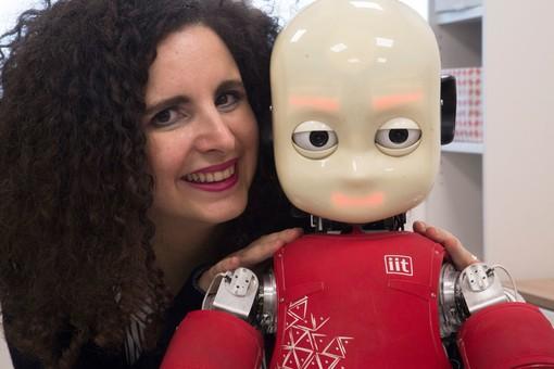 """Alessandra Sciutti: """"La mia ricerca con iCub per studiare l'uomo"""""""