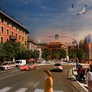 Un nuovo avveniristico hotel in via Mura degli Zingari