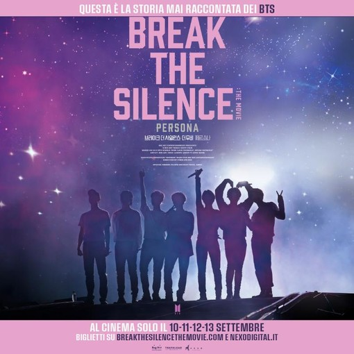 """Bts break the silence: the movie"" in programma all'Arena cinema nei parchi [FOTO]"