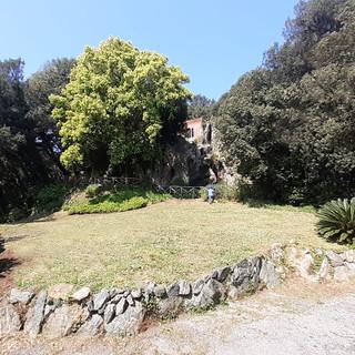 Villa Duchessa a Voltri, il Belvedere ritrova la sua antica bellezza