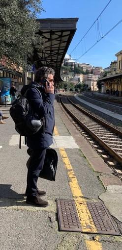 Rapallo: arriva il Freccia Rossa, soddisfazione del sindaco Bagnasco