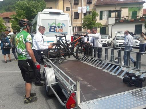 Aumentano a 8 le partenze settimanali del bike bus per la Madonna della Guardia