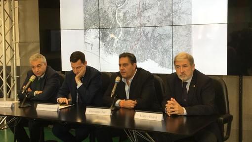 """Scolmatore Fereggiano, Toti al Pd: """"Non sapete nemmeno cosa inauguriamo"""""""