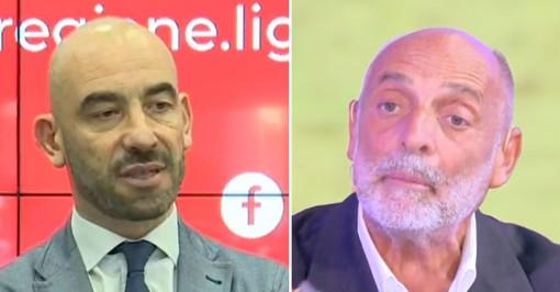 Matteo Bassetti e Paolo Brosio