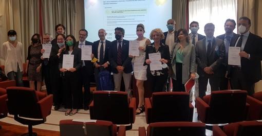 Management sanitario: la Regione consegna i diplomi Amas