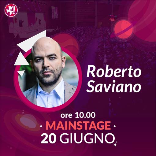 Roberto Saviano ospite al Web Marketing Festival: il 20 giugno sul Mainstage un talk su Fake News e integrazione
