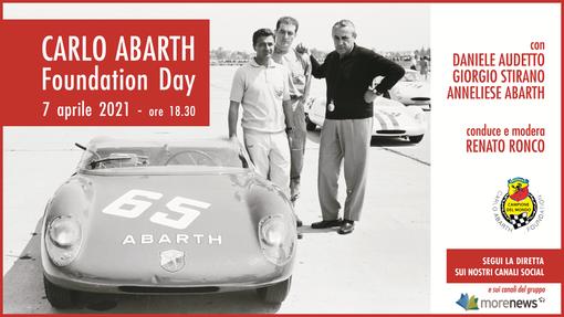 CARLO ABARTH Foundation Day: scopri la storia di Carlo e delle mitiche Abarth, in diretta mercoledì 7 alle 18:30
