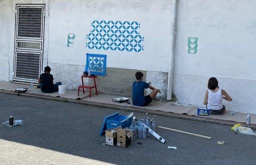 A Certosa è partito ieri un laboratorio di street art