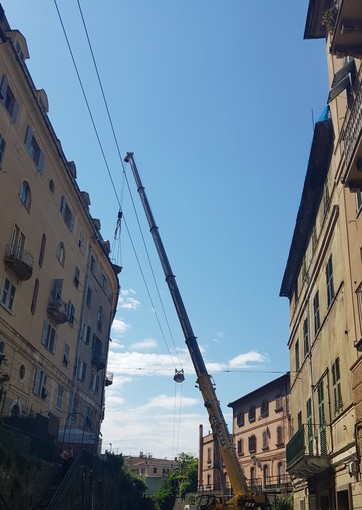 """Campasso, la denuncia di Pd, LeU e abitanti: """"Quartiere dimenticato tra cantieri e poca informazione"""""""