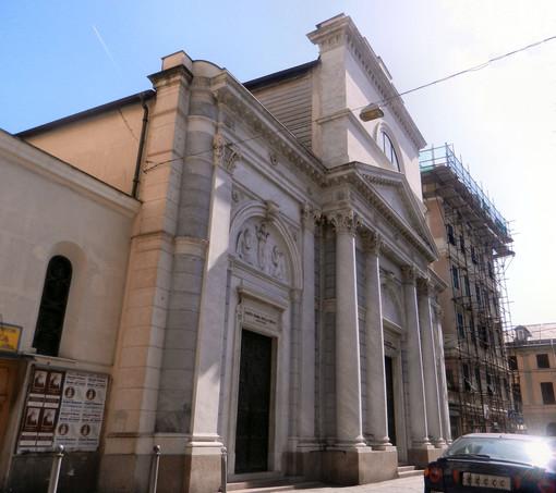 Sampierdarena: furto sacrilego e teppismo contro la chiesa della Cella