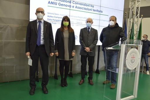 AMIU Genova e lstituto Ligure del Consumo insieme verso un futuro sempre più ecosostenibile per i rifiuti (VIDEO)