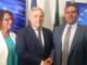 """Visita istituzionale del presidente del Parlamento Europeo Tajani. Toti: """"Piu' autonomia per le Regioni"""""""