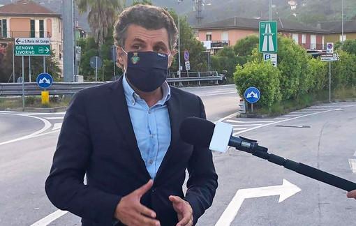 Autostrade, Rapallo: il sindaco Bagnasco chiede i danni per le chiusure