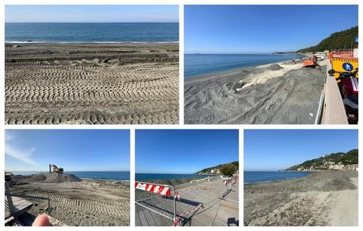 Voltri, ripascimento in ritardo e spiaggia inaccessibile (FOTO)