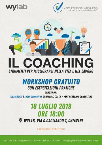 Come migliorarsi nella vita e nel lavoro: il workshop di Coaching di Wylab