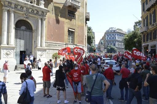 """Incidente mortale di Ronco Scrivia, Cgil: """"Basta morti sul lavoro"""""""