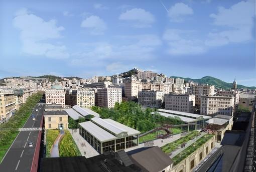 Ex mercato di corso Sardegna: nessuna attività del territorio entrerà nell'area riqualificata