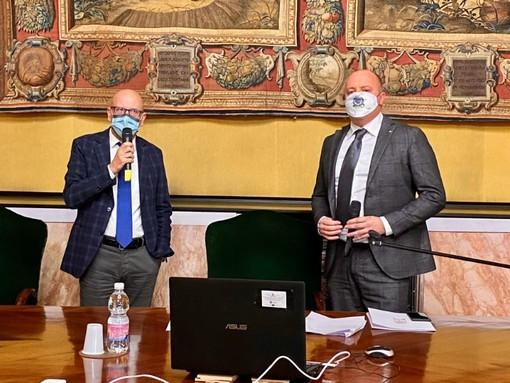 Il sindaco di Chiavari Marco Di Capua eletto presidente del Cal, Domenico Abbo vicepresidente (FOTO)