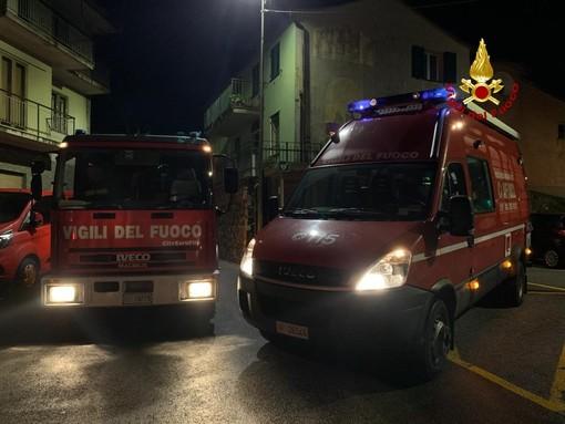 Incendio in via Burlando: intossicate 2 persone