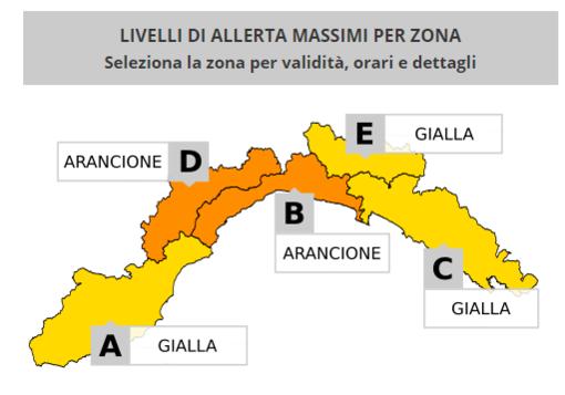Meteo: allerta arancione a Genova fino alle 18 (VIDEO)