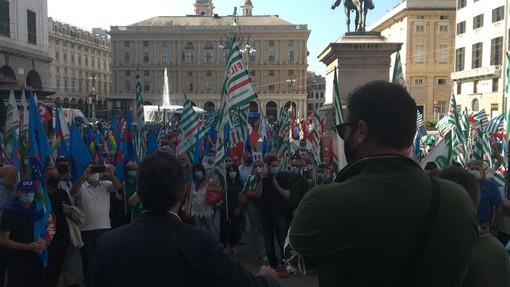 Sciopero provinciale del comparto edilizia: mercoledì 21 luglio la manifestazione in Largo Pertini a Genova