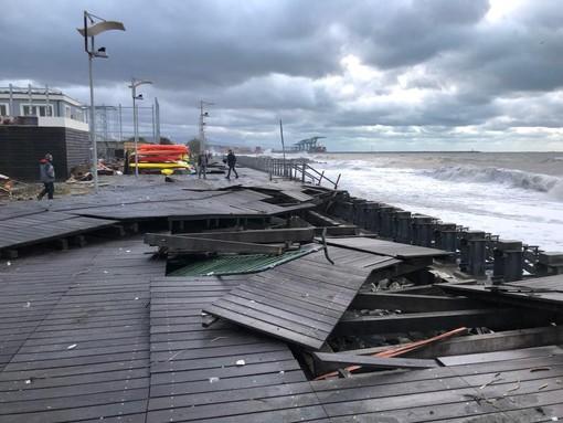 """Giovanni Solari sulla mareggiata devastante: """"Il vento soffiava sopra i 140 km all'ora"""""""