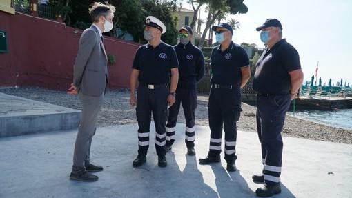 Santa Margherita: la Guardia Costiera Ausiliaria controlla le spiagge libere (VIDEO)