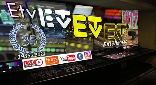 Entella Tv festeggia i trentacinque anni di vita trasmettendo in tutta la Liguria